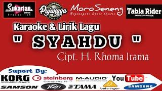 Gambar cover SYAHDU Karaoke + Teks Jaipong Koplo Mantab Version..