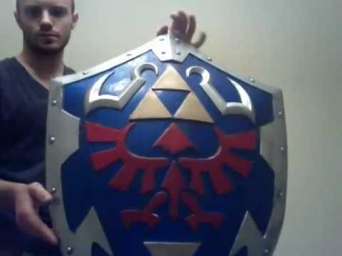 My Hylian Shield Replica Youtube