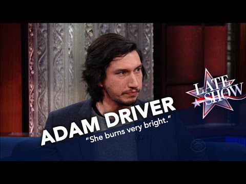 Adam Driver Remembers Star Wars CoStar Carrie Fisher