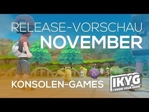 Games-Release-Vorschau - November 2018 - Konsole