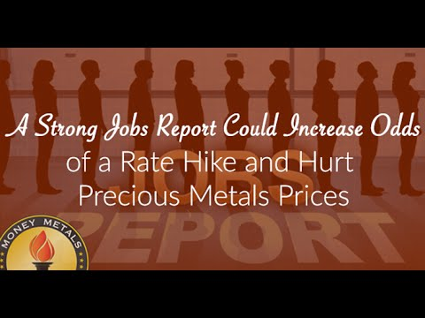A Strong Jobs Report Could Increase the Odds of a Rate Hike and Hurt Precious Metals