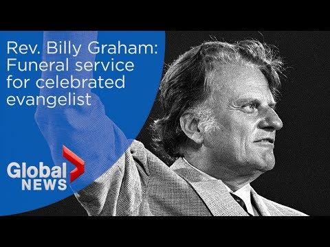 Rev  Billy Graham: FULL funeral service Part 1 - YouTube