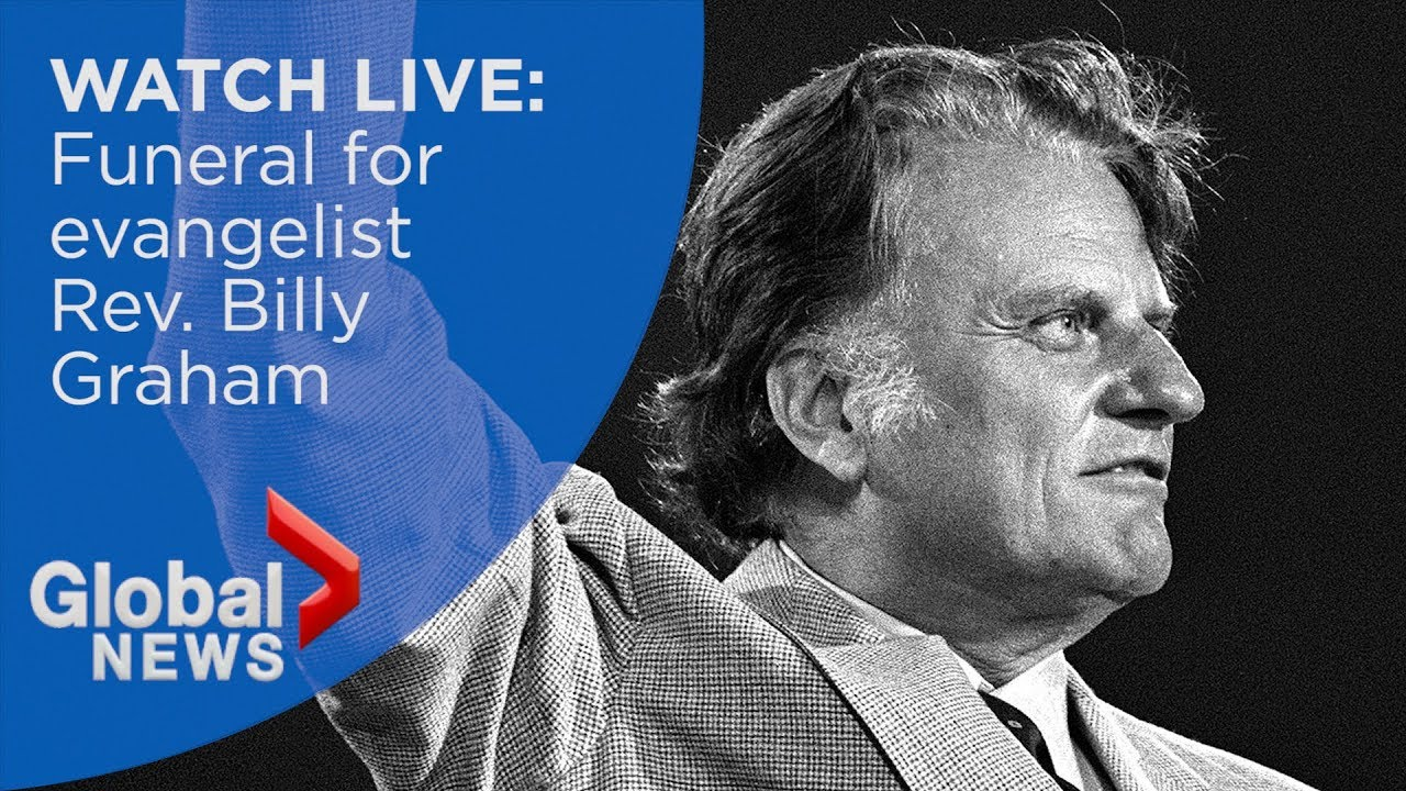 WATCH LIVE: Funeral for evangelist Rev. Billy Graham