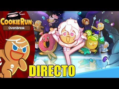 🔴 DIRECTO: Cookie Run: OvenBreak | Galletas del mundo, sed libres