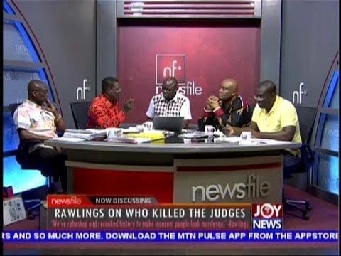 Rawlings on Who Killed the Judges - Newsfile on JoyNews (13-10-18)