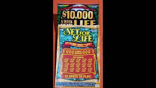 $10,000 A WEEK FOR LIFE AND SET FOR LIFE NY LOTTERY!!!
