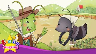 The Grasshopper And The Ant - Let's go fishing. swimming. (suggestion) - English Aesop´s Fables