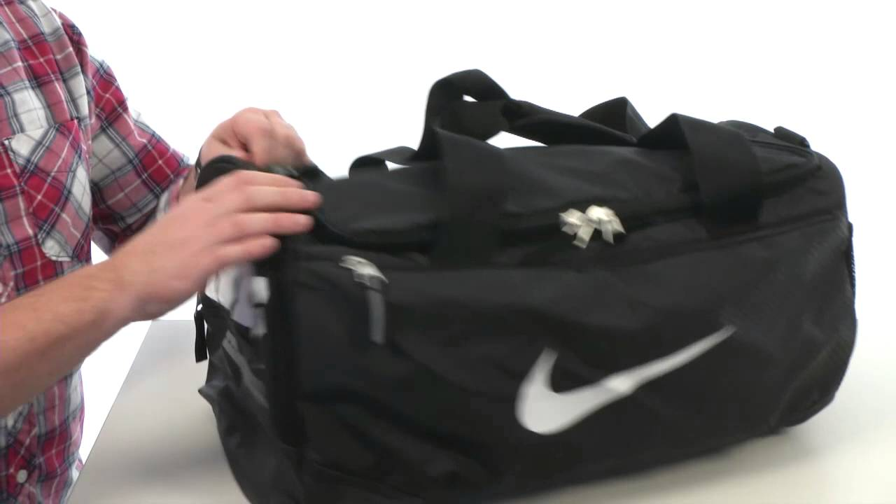 c6ea3f74b8c9d Nike Team Training Max Air Small Duffel SKU 8317984 - YouTube