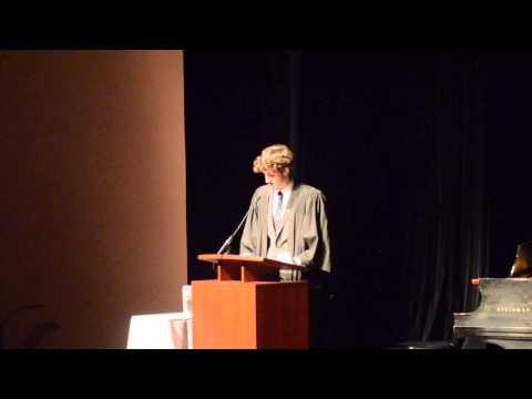 Rowan DeBues (VUSAC President) Speech | Orientation Convocation 2014