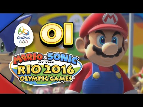 Mario and Sonic at the Rio 2016 Olympic Games for Wii U: Part 01 - Football (4-Player)