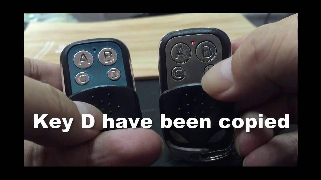 How to Program Remote Control duplicator