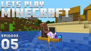 iJevin Plays Minecraft - Ep. 5: VILLAGER SHENANIGANS! (1.15 Minecraft Let's Play)
