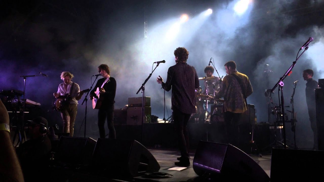 The Kooks Sofa Song W Van Mccann Melbourne 24 1 2015 Sidney Myer Music Bowl Youtube