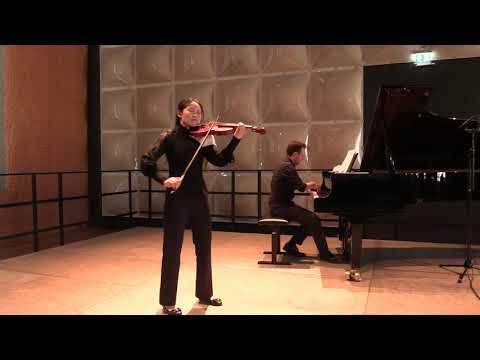 Brahms violin concerto op.77 1. movement Yu-Fan Huang, Andrei Banciu