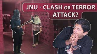 Understanding JNU Violence - Clash or a Terror Attack ?   Akashvani @TheDeshbhakt