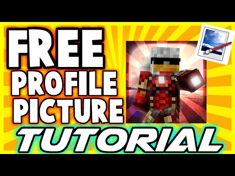 [TUTORIAL] How To Make A FREE Minecraft Profile Picture - Paint.net