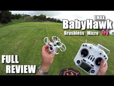 EMAX BABYHAWK Review - Micro Brushless FPV Race Drone