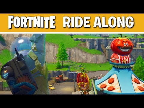 Fortnite Battle Royale Solo Tips and Tricks | Week of Tomato Town #1 | Ride Along