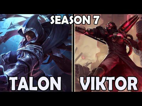 Best TALON Korea vs VIKTOR MID Ranked Challenger