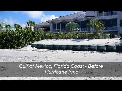 Coastal Erosion Protection Barrier TrapBag