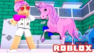 saving UNICORNS in ROBLOX Spanish Vet Simulator
