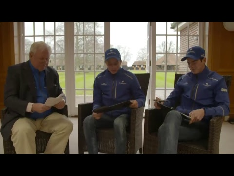 LIVE with William Buick and James Doyle for a Q&A session hosted by Jim McGrath!