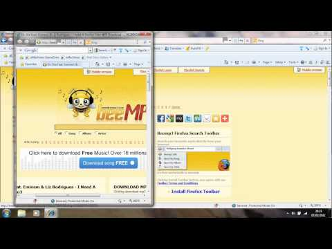 how to download free music from your web browser