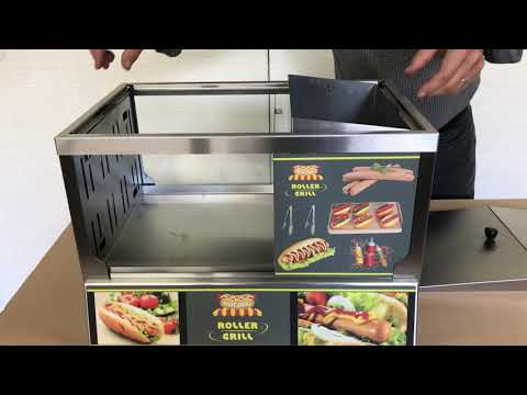 Hot-Dog Station - Cleaning - RollerGrill