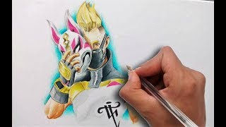 Dibujando un Skin Fortnite DRIFT / Drawing Drift Skin Fortnite - Nosfe Ink Tattoo