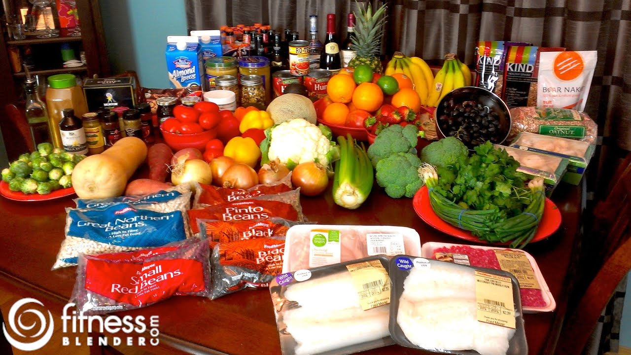 Fitness Blender Grocery Haul What Does Fitness Blender S