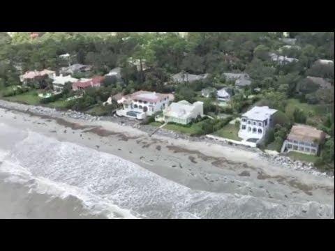 Savannah, GA Irma Damage- Aerial Views