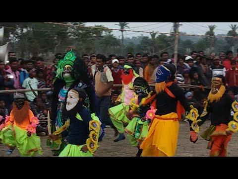 Chow dance | Chhau nach | Purulia.