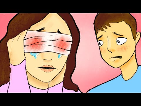 Я потеряла зрение из за ошибки брата ...