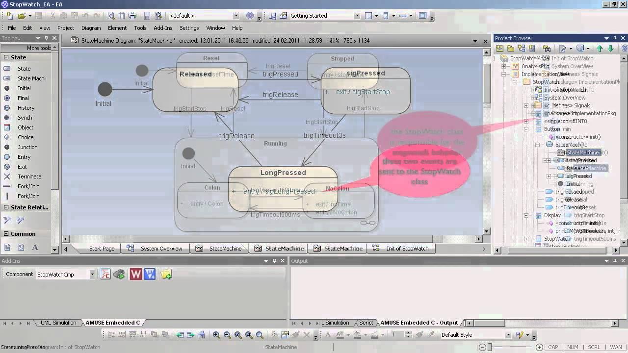 Enterprise architect uml generating embedded software enterprise architect uml generating embedded software lieberlieber amuse willert rxf youtube ccuart Images