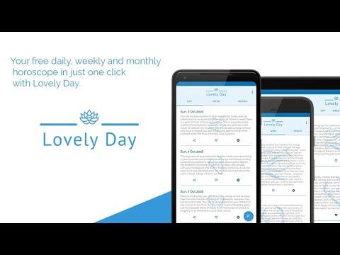 Lovely Day, Horoscope - Apps on Google Play