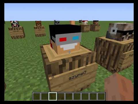 Minecraft Ciekawostki Jak Przywolac Glowy Graczy 1 12 1 Samye