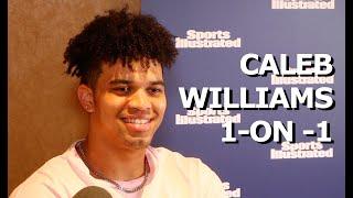 My sit-down with Oklahoma QB commit Caleb Williams