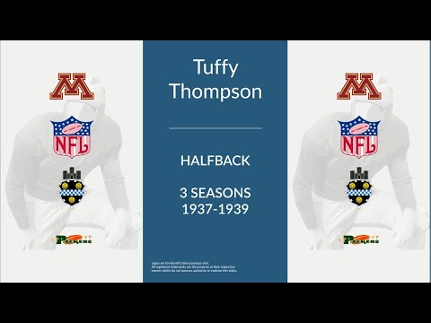 Tuffy Thompson: Football Halfback