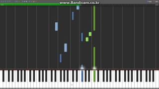 [Synthesia][MIDI] Crayon Shin-chan - Hiroshi no Kaisou(히로시의 회상)