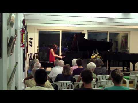 Camille Riopel, Adamant Music School, Brahms op118 intermezzi no1 & 2