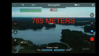 Hesper  drone range  test