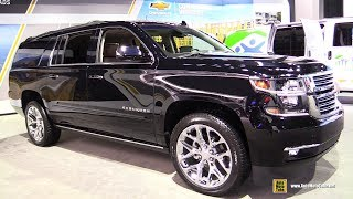 2018 Chevrolet Suburban - Exterior and Interior Walkaround - 2017 LA Auto Show