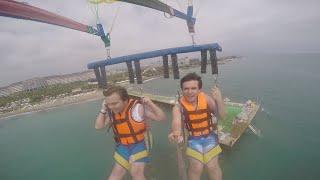 Hakanla Paraşütte Uçtuk #1 Tatil Vlog !