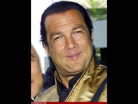 Steven Seagal pays actors to feign interest in his .45 collection (subtitled)