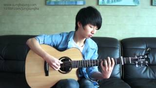 Jason Mraz) I Won't Give Up   Sungha Jung Acoustic Tabs Guitar Pro 6