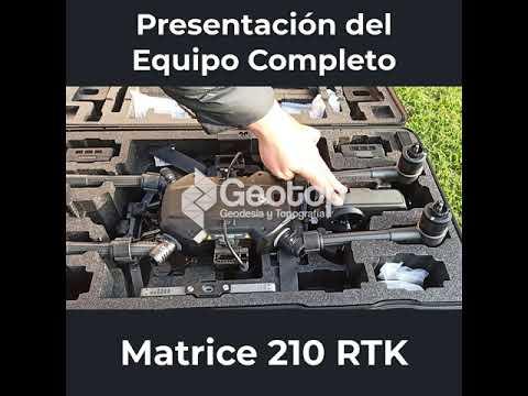Presentación Matrice 210 RTK
