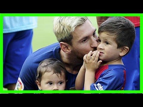 Bongdaso Bong Da So Tin Tuc Ban Tin 0h 8 12 Con Trai Messi La Hien Tuong