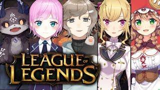 大会に向けてチーム練習→からのソロランク|League of Legends【にじさんじ/叶】