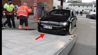 Getunter VW Scirocco wird fahrlässig Abgeschleppt!!