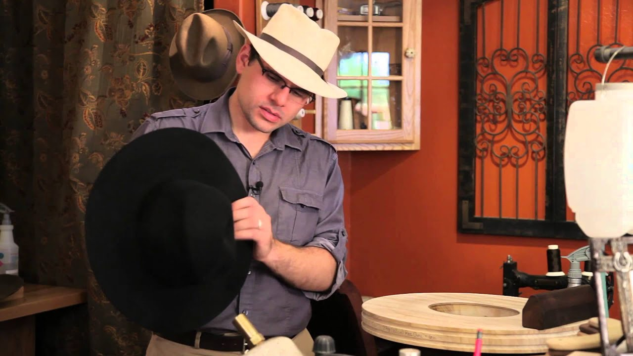 How to Shape Felt Cowboy Hats   Felt Hats - YouTube 1ce9b30c5b5e